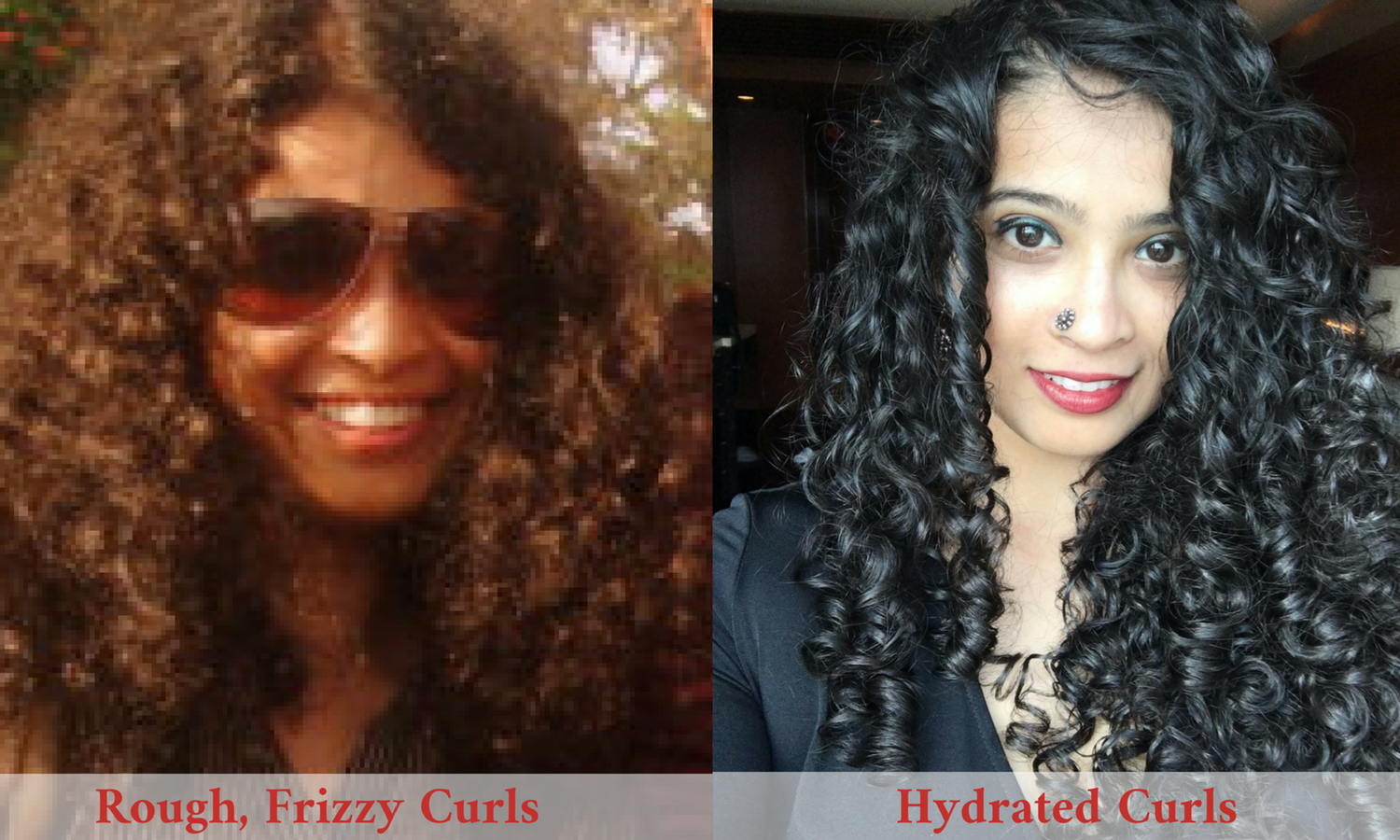 Applying Conditioner To Curly Hair