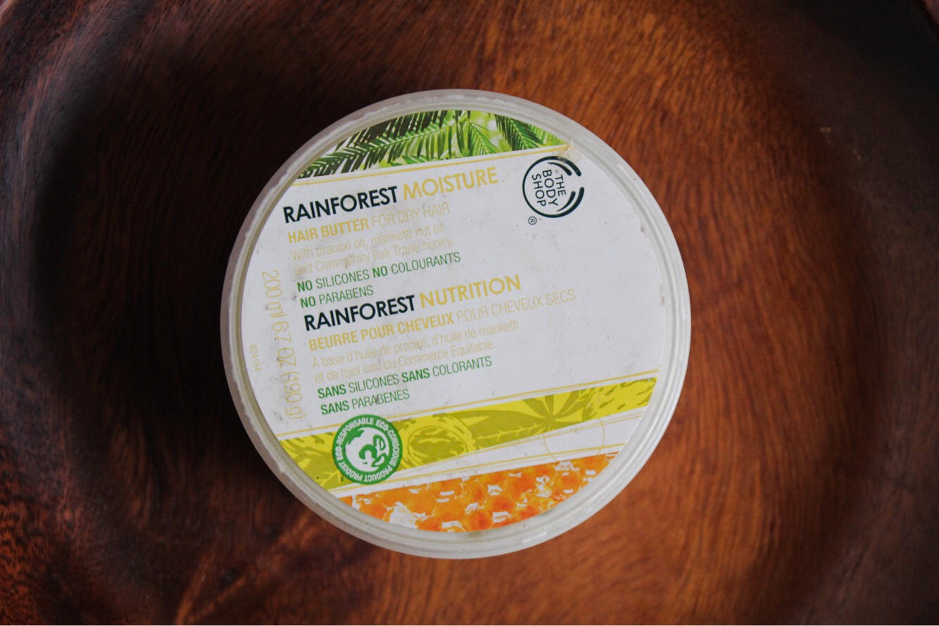 The Bodyshop Rainforest Moisture Hair Butter Review