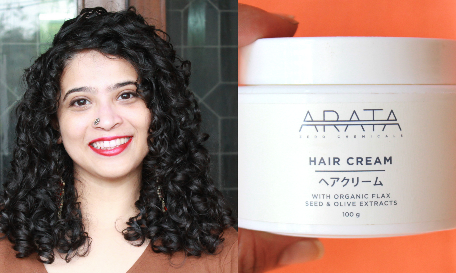 Arata Zero Chemicals Hair Cream