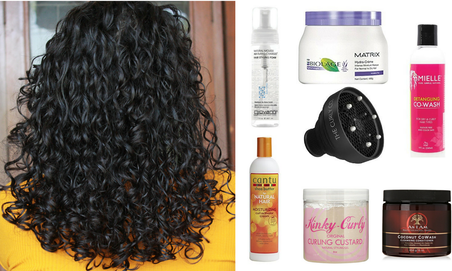 Best Products to Make Frizzy Hair Curly
