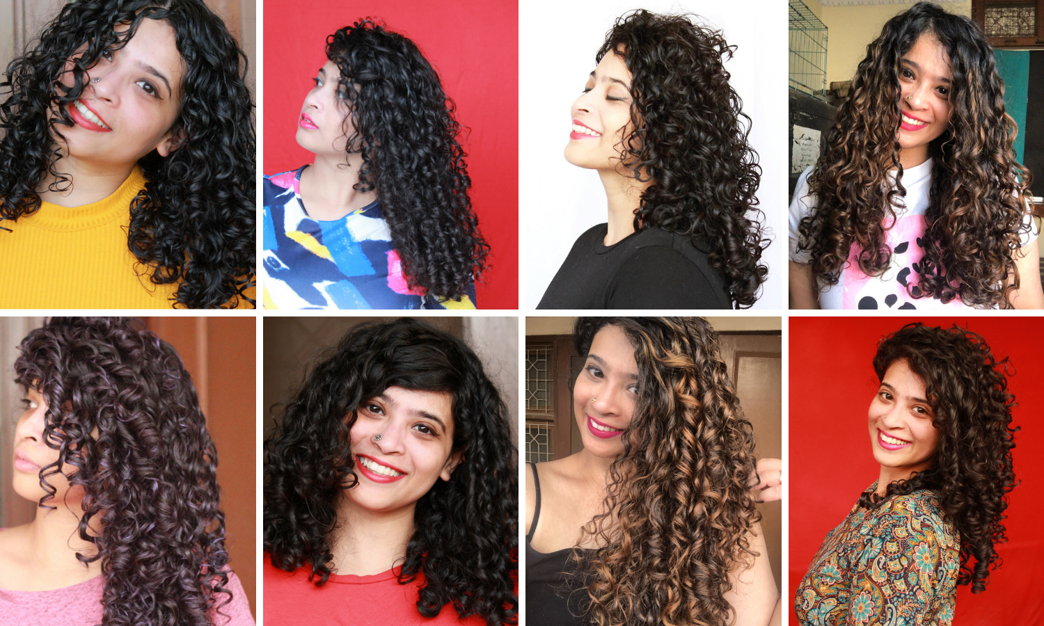Indian Curly Hair Styles